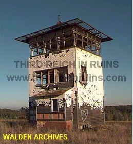 This Rather Simple Guard Tower Overlooked The East German Side Of The Border  Along Highway B19, Near The Southern Thuringian Village Of Henneberg.