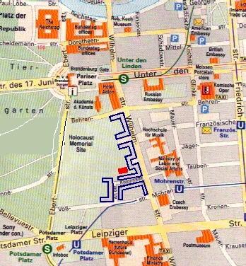 Berlin Pt - Third reich map 1944