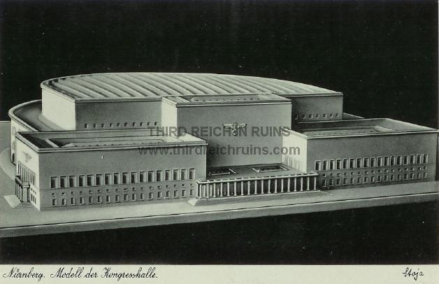 Sede del partido Nazi en Núremberg