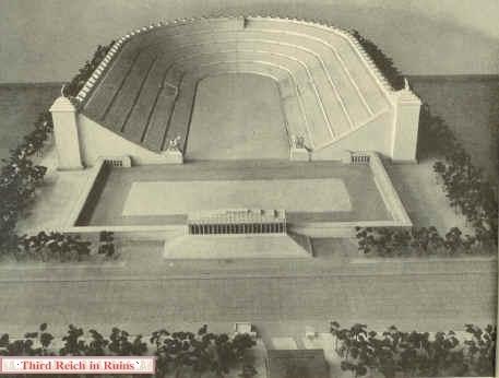 stadionmodellMAN - Hitler'in 405.000 Ki�ilik Stad�