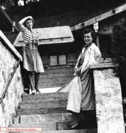 Henriette Von Schirach Below, eb and henriette von